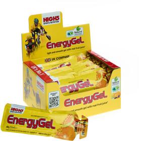 High5 EnergyGel Box 20x40g Orange